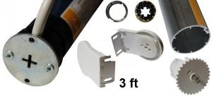 Somfy Sonesse 40 WT powered blind kit
